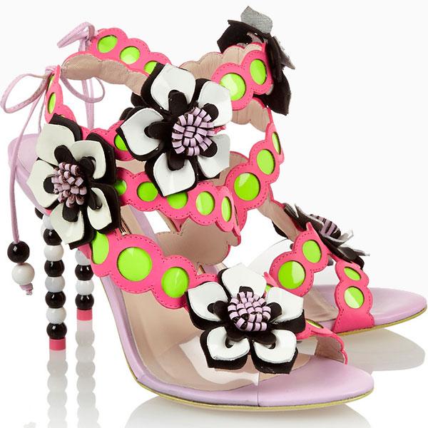 Sophia Webster1 5 модных марок сумасшедшей обуви