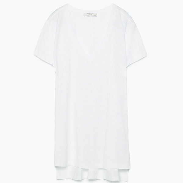 Zara3 Где купить белые футболки и рубашки на каждый день