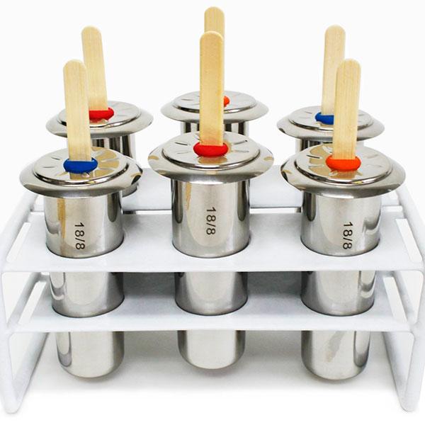 Набор форм для льда от Metro 18 8 Stainless 1 800 руб.  Как приготовить мороженое и фруктовый лед дома