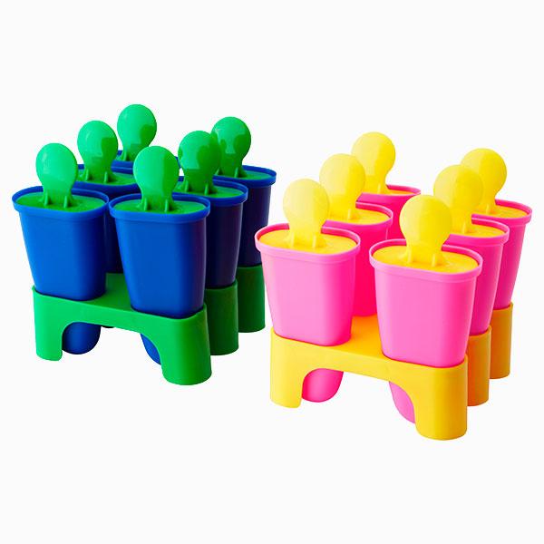 Набор форм для мороженого «Чосигт» от Ikea 129 руб. Как приготовить мороженое и фруктовый лед дома