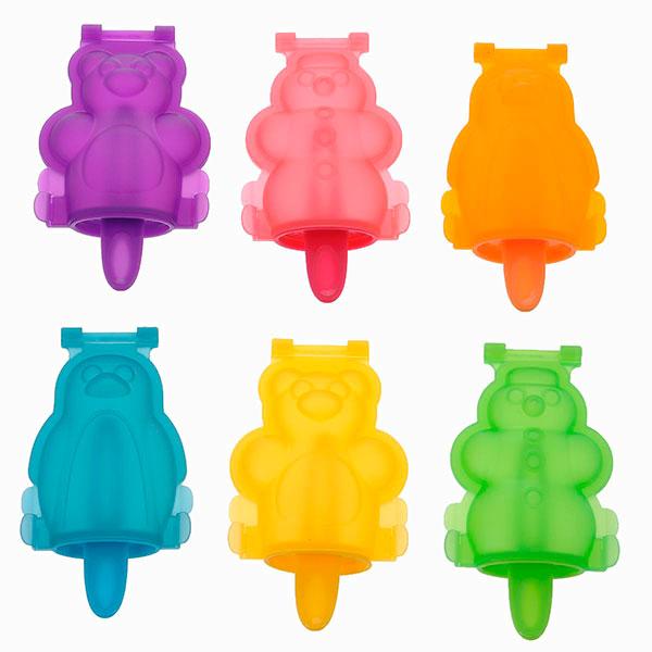 Набор форм для мороженого «Bambini» в виде разных животных от Tescoma 540 руб. Как приготовить мороженое и фруктовый лед дома