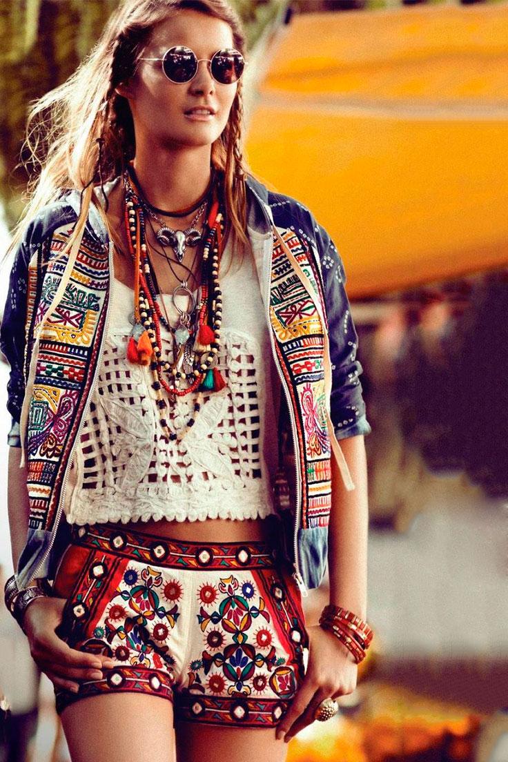 Образ в стиле хиппи Coachella и RocknRoll: что надеть в теплые выходные, которые обязательно наступят