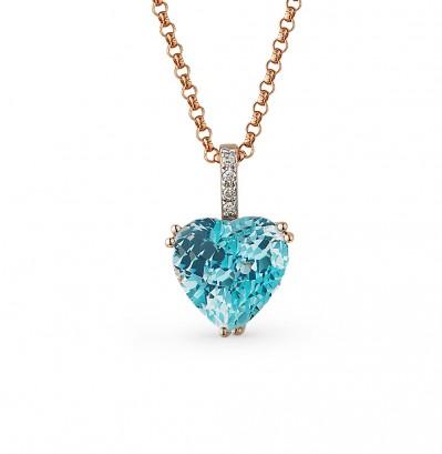 13305 Подвеска серебряная «Сердце»