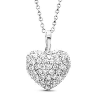 14663 Подвеска серебряная «Сердце»