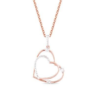 15838 Золотая подвеска «Сердце»
