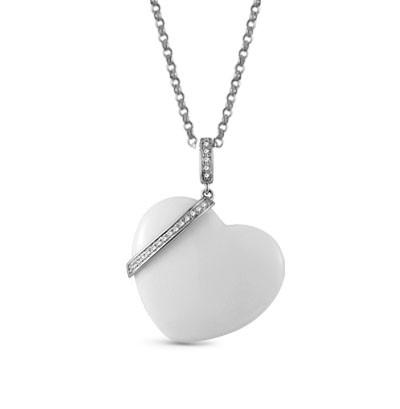 16940 Золотая подвеска «Сердце»