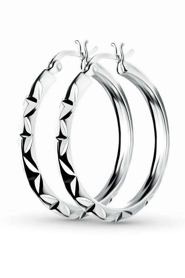 33810 Как носить серьги конго