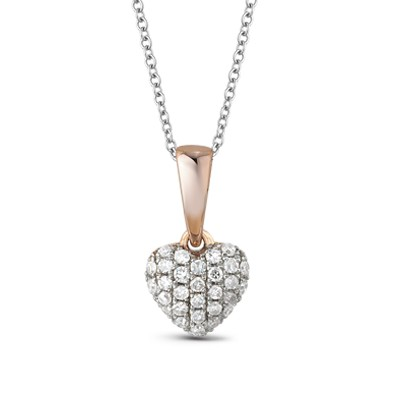 8181 Золотая подвеска «Сердце»
