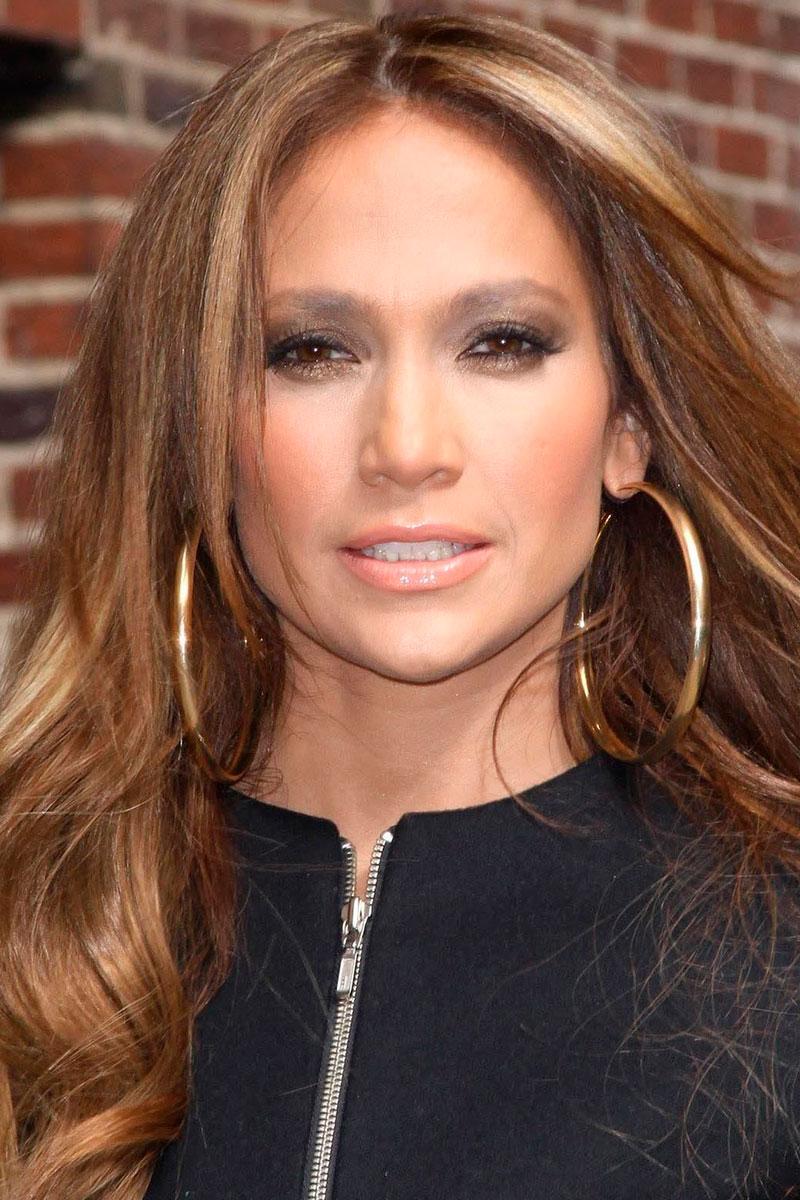 Jennifer Lopez hoops Как носить серьги конго