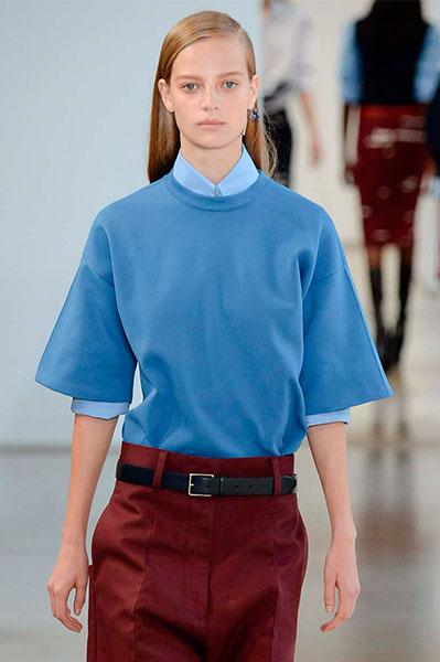 Jil Sander весна лето 2015 Белая рубашка: 5 новых причин отобрать ее у бойфренда