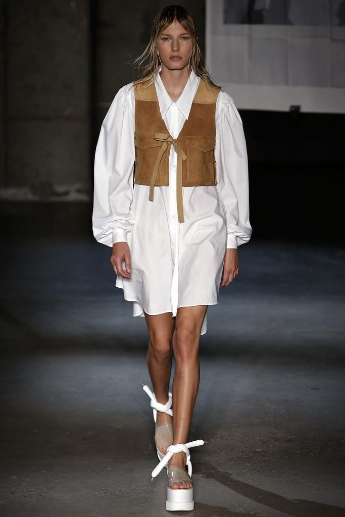 MM6 Maison Margiela весна лето 2015 Белая рубашка: 5 новых причин отобрать ее у бойфренда