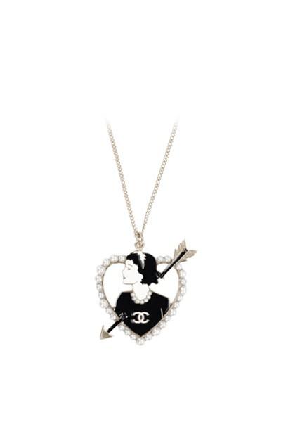 chanelnecklace400x600 Золотая подвеска «Сердце»