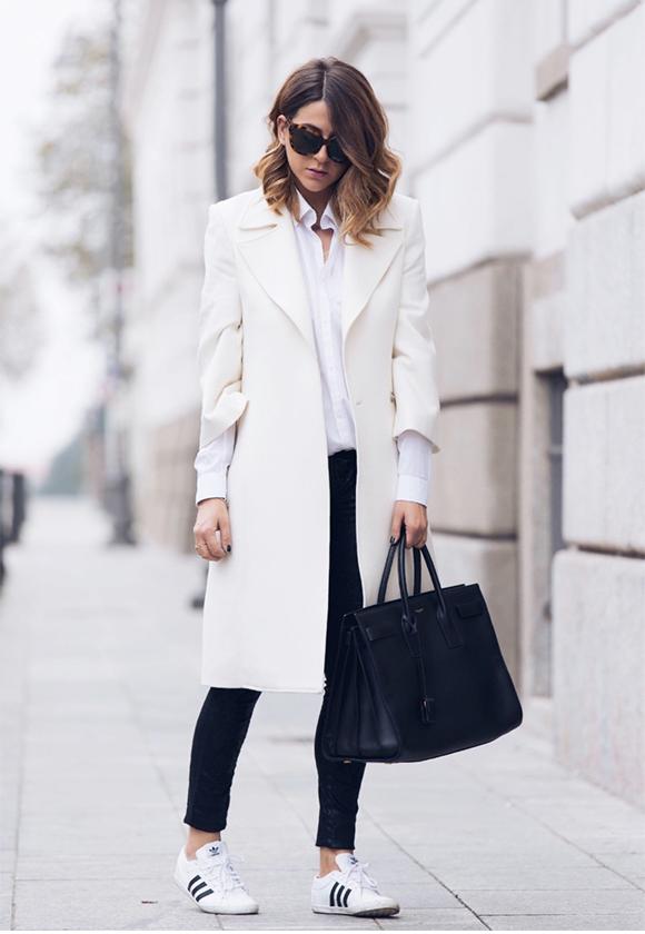 Белое пальто 2 С чем носить белые вещи, чтобы не выглядеть как медсестра или невеста