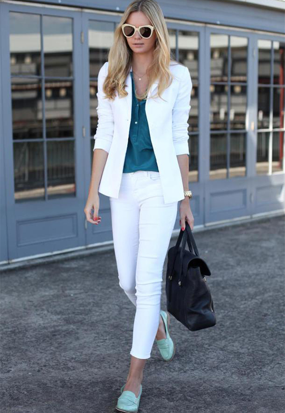 Белые ботинки - с чем носить?