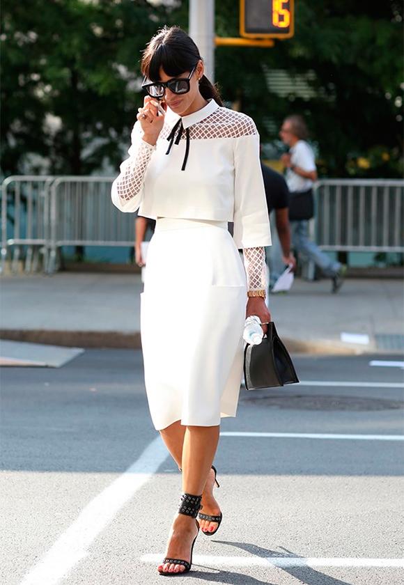 Белый цвет в несколько слоев 1 С чем носить белые вещи, чтобы не выглядеть как медсестра или невеста