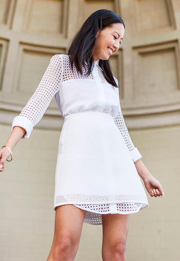 Белый цвет в несколько слоев 2 С чем носить белые вещи, чтобы не выглядеть как медсестра или невеста
