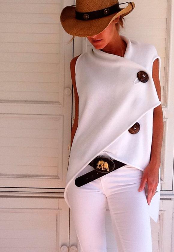 Белый цвет с неожиданными вещами 1 С чем носить белые вещи, чтобы не выглядеть как медсестра или невеста