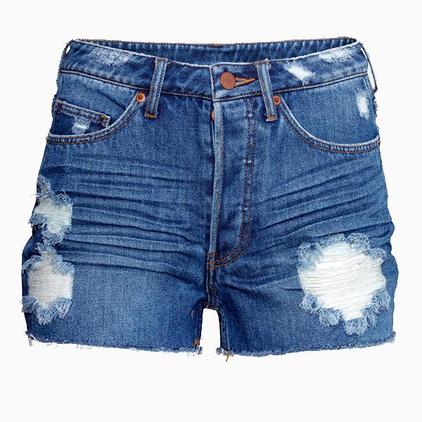 Джинсовые шорты HM Как правильно собрать чемодан в отпуск