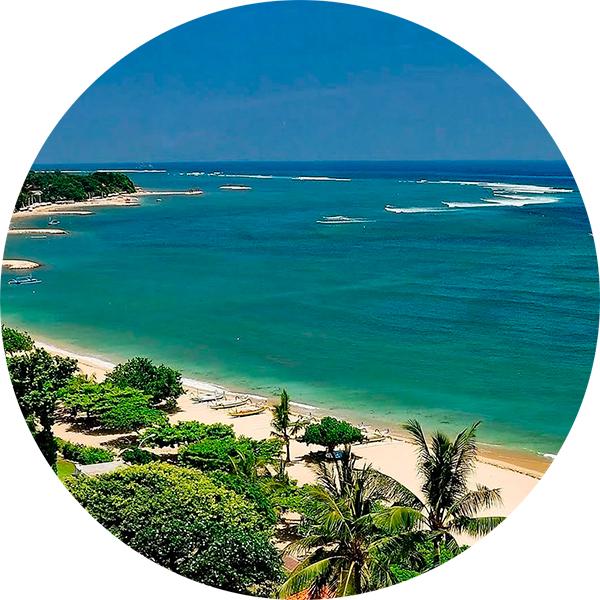 Кута Бали  Где учиться кататься на серфе и что вам для этого понадобится