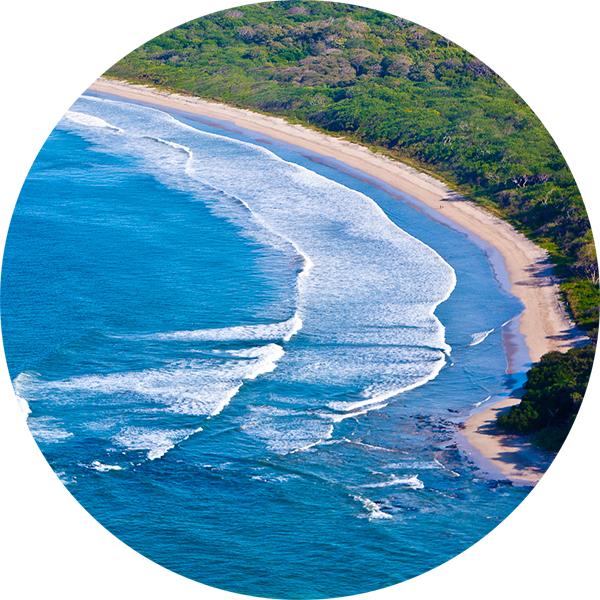 Носара Коста Рика  Где учиться кататься на серфе и что вам для этого понадобится