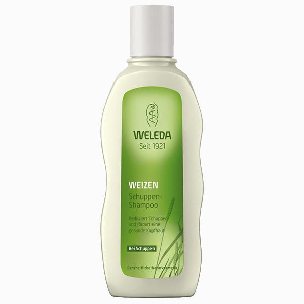 Шампунь от перхоти с экстрактом пшеницы Wheat Balancing Shampoo от Weleda 570 руб. Какие шампуни спасут от перхоти
