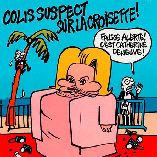 Новый номер  Charlie Hebdo, посвященный Каннскому кинофестивалю