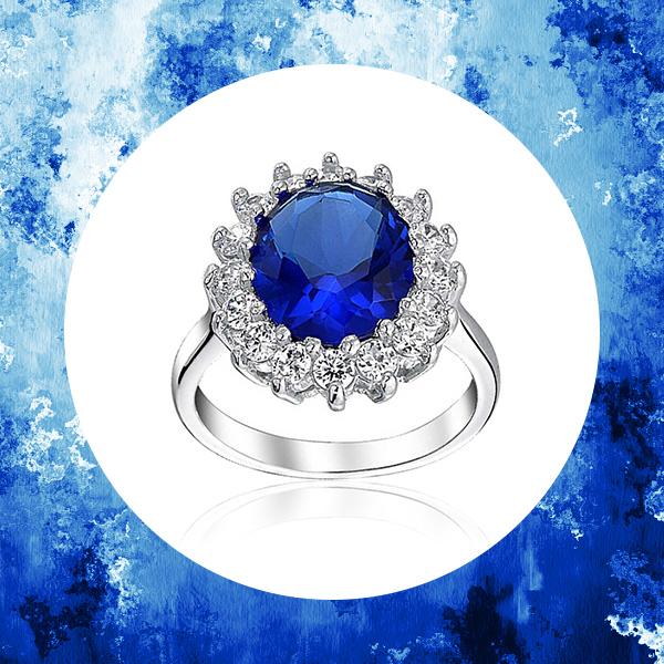 Кольцо с сапфиром принцессы Дианы