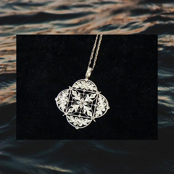 001 small7 Украшения, найденные на затонувшем «Титанике»