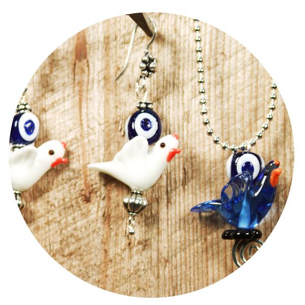 Украшения SariBlue Peace Doves, созданные для Джессики Альбы и ее детей