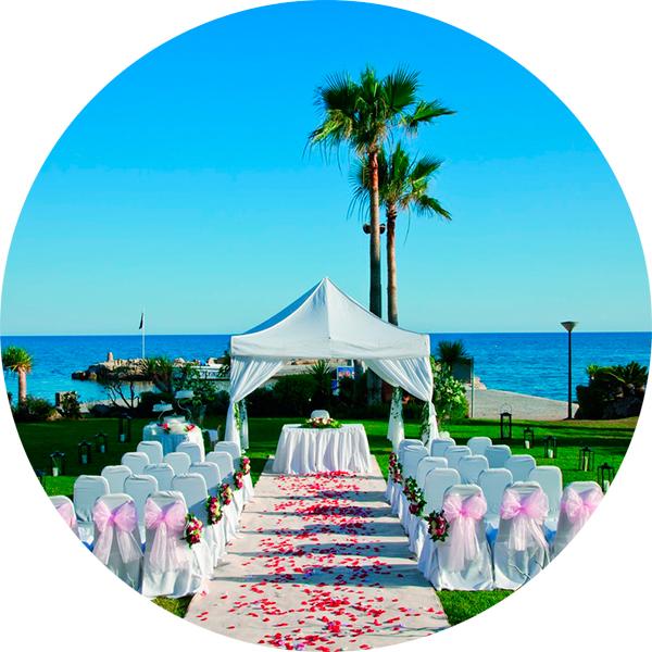 Cyprus Как организовать свадьбу за границей?