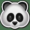 Emoji Panda 100x100 Ленивая панда и бревно: смотрим смешной ролик