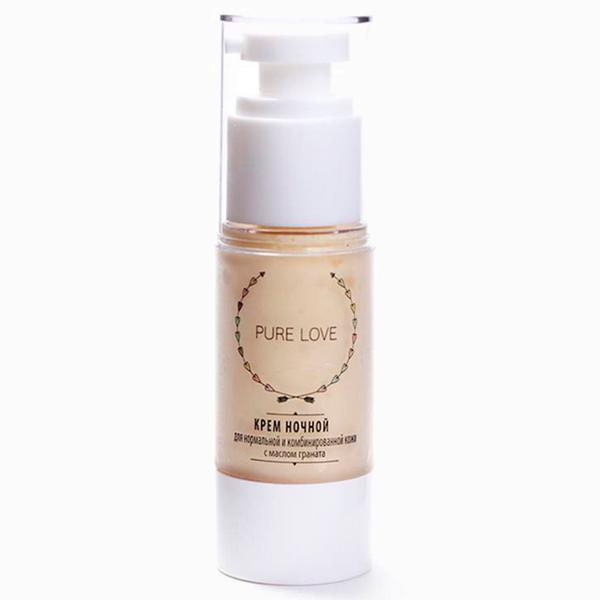 Крем ночной Pure Love с маслом граната  5 российских косметических брендов, с которыми стоит познакомиться поближе