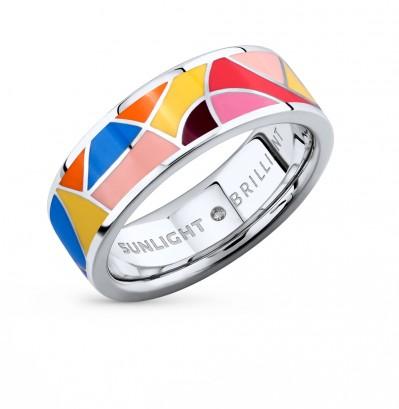 Серебряное кольцо с эмалью (1 330 руб.)