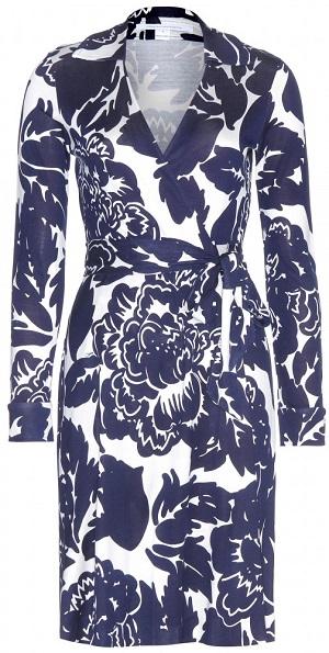 Платье с запахом Diane For Furstenberg (цена по ссылке)