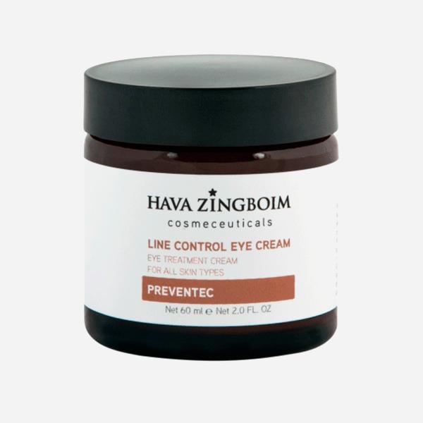 Крем лифтинг от морщин и мешков под глазами от нависания верхнего века Line Control Eye Cream Hava Zingboim Cosmeceuticals Независимый эксперт о лучших средствах ухода