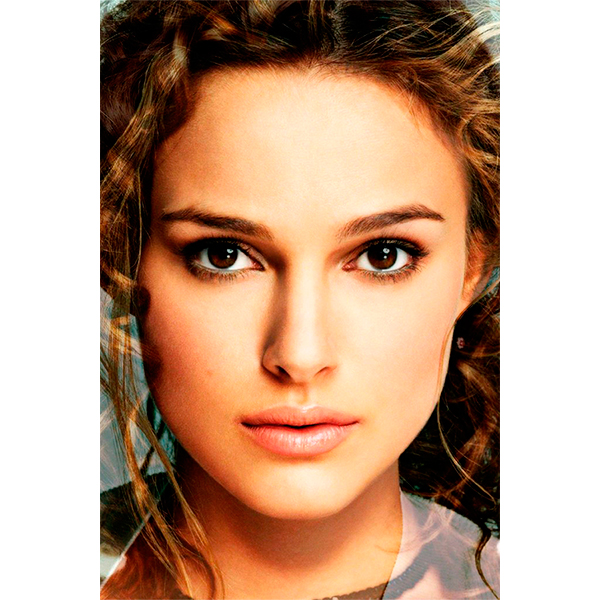 and finally heres the portrait of natalie portman melded with keira knightly which looks a little like keri russell circa her role in felicity Что будет, если соединить Анджелину Джоли и Меган Фокс?