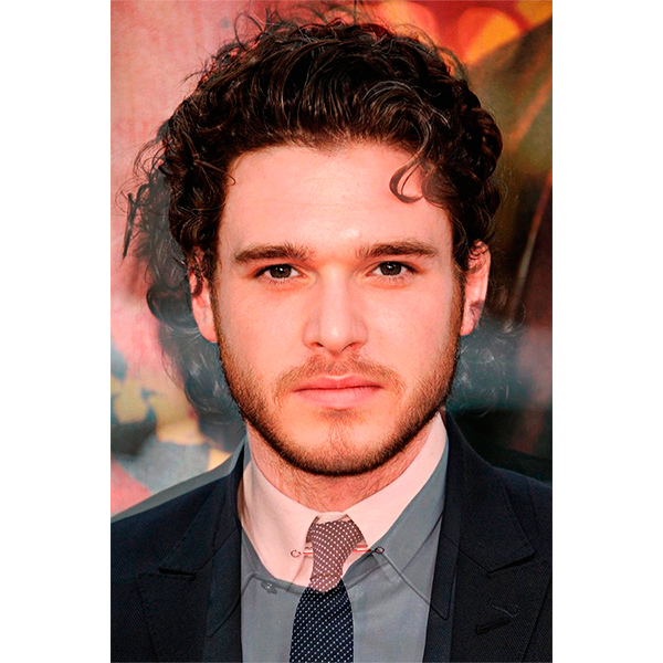 the title of this picture is the king and the bastard the photo combines kit harrington jon snow in game of thrones and richard madden who plays rob stark Что будет, если соединить Анджелину Джоли и Меган Фокс?