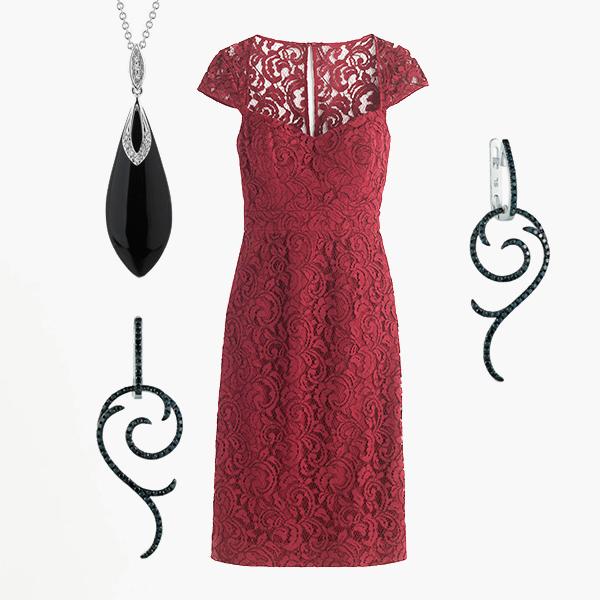 002 small3 Как подобрать украшения к красному платью