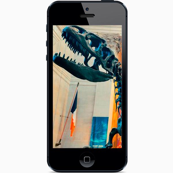 1 american museum of natural history dinasour Мобильные приложения: как пойти в музей онлайн