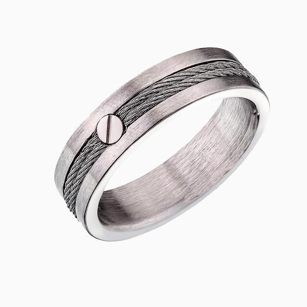 Кольцо с металлическими нитями Sergey Gribnyakov