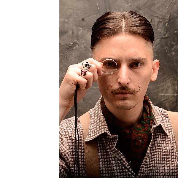 Коллекция «Острые козырьки», волосы: Sid Sottung и Lock Stock & Barrel