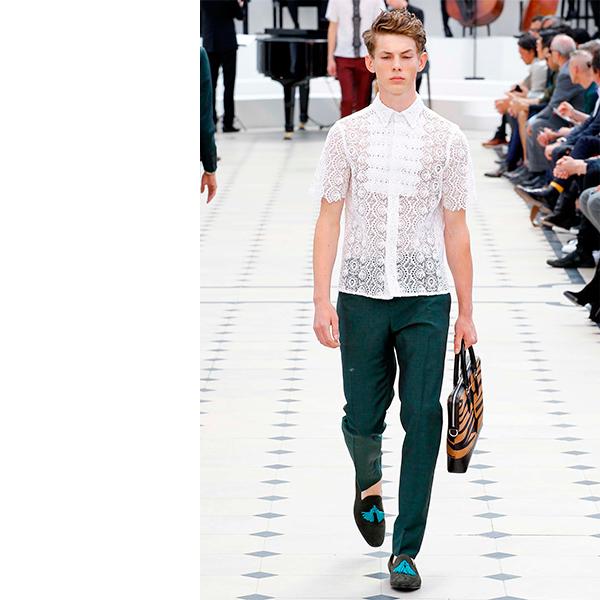 Burberry Prorsum Мужчины в платьях, женщины в галстуках – что происходит в мире моды?