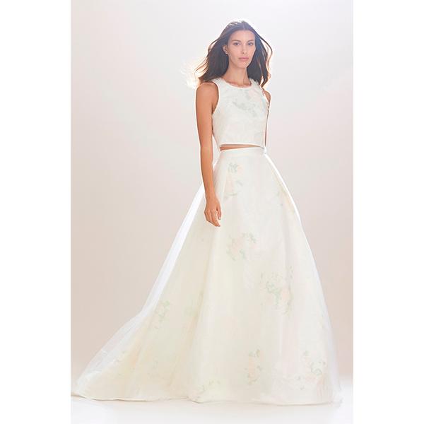 Carolina Herrera осень зима 2016 Свадебные тренды 2016