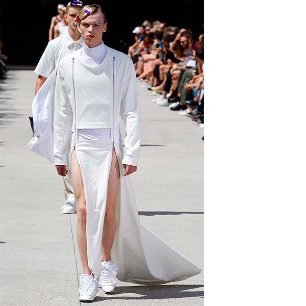 Hood By Air Мужчины в платьях, женщины в галстуках – что происходит в мире моды?