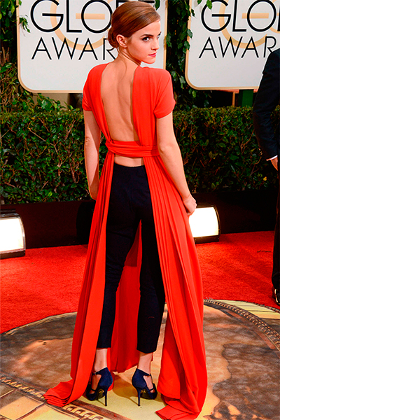 Эмма Уотсон в Christian Dior Couture на Golden Globe Awards 2014