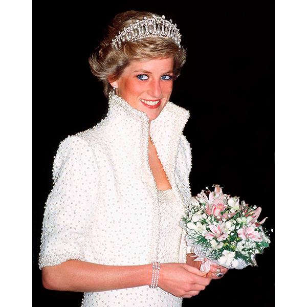 princess diana Герцогиня Кэтрин надела любимую тиару принцессы Дианы