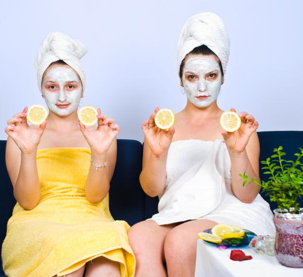 How to Make a Lemon Olive Oil Mask Маски для волос с лимоном
