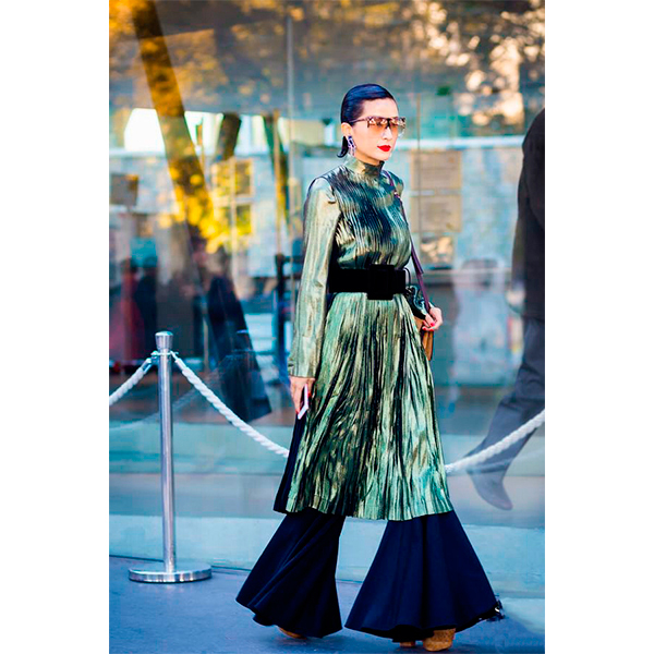 Street style 41 5 причин начать носить платье с брюками прямо сейчас