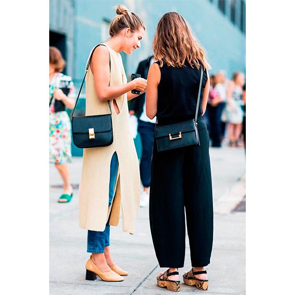 Street style 5 причин начать носить платье с брюками прямо сейчас