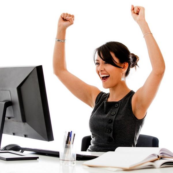 Successful positive business woman Как стать успешной женщиной